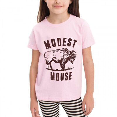 Age 2-6 Kids Toddler Modest Mouse logo Little Boy's Girl's Fashion T Shirts