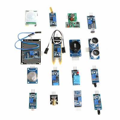 16pcs Sensor Module Board Kit Set For Arduino Raspberry Pi 3/2 Model B Accs Part