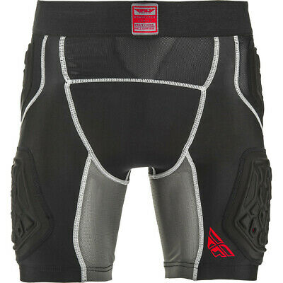Fly Racing Barricade Compression Shorts Breathable Padded Base Layer GhostBikes