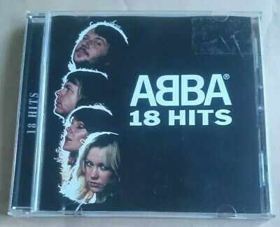 ABBA - 18 Greatest Hits CD Best Of Essential Collection Songs of Gold