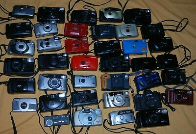 A COLLECTION OF VINTAGE 35mm COMPACT FILM CAMERAS #6