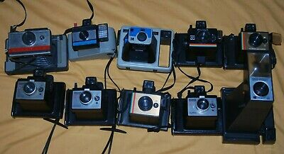 A Collection Of Vintage Polaroid Instant Cameras #7