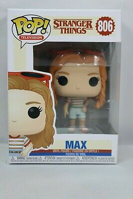 Funko Toys Pop TV season 3 Max (Mall Outfit) #806 FREE SHIPPING