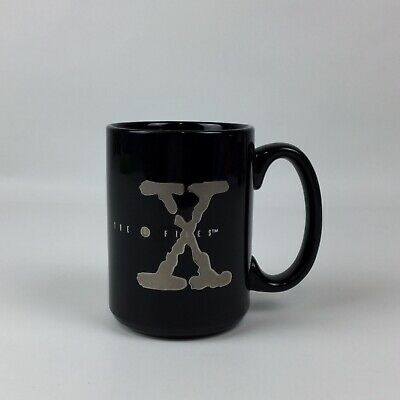 Vintage X-FILES Black Mug,The Truth Is Out There, 1995