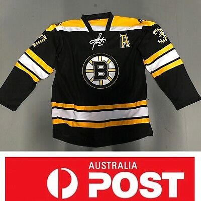 Ice Hockey jersey, Boston Bruins #37 Bergeron jersey, AU stock