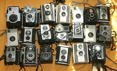 A Collection Of Vintage Twin Lens Box Cameras -  #10