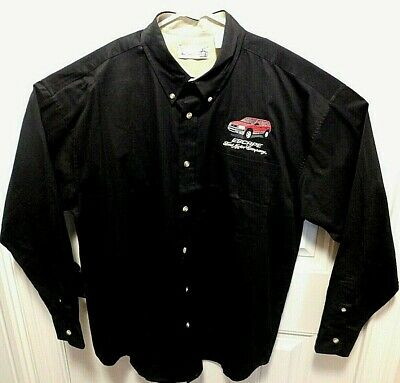 Rare Ford Motor Co Escape Bl Ls Button Down Collar Xl Shirt A1011