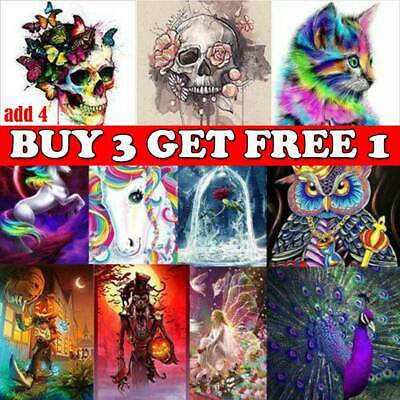 Halloween DIY 5D Diamond Painting Animal Embroidery Cross Craft Stitch Art Kitlo