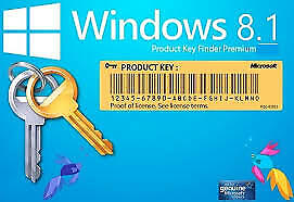 MIC.WIN 8.1 PRO 32/64 Bits Original Product Key (Lifetime Licence) FAST DELIVERY