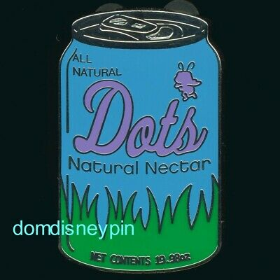 Disney Pin *Delicious Drinks* Mystery Collection - Soda Can (Dot's Natural)!