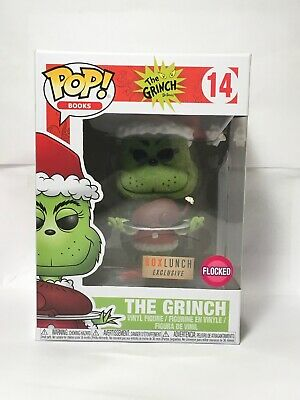 Funko Pop! #14 Flocked Grinch with Roast Beast Box Lunch Exclusive