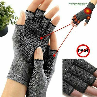 NEWLY Arthritis Gloves Compression  Finger Pain Relief Hand-Wrist Support Brace