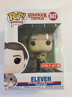 Funko POP ELEVEN with Bear Stranger Things TARGET exclusive