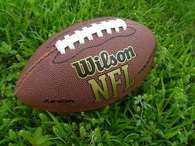 Wilson NFL Touchdown Football Junior All-Weather Design Cushioned Super Grip