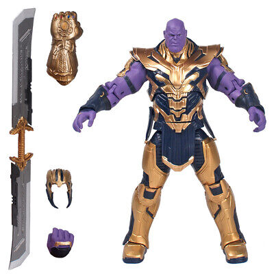 "Marvel Legends Thanos 8"" Action Figure Avengers: Endgame Armored Thanos Toy"