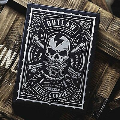Outlaw Playing Cards by Kings & Crooks - Included a clear protective case