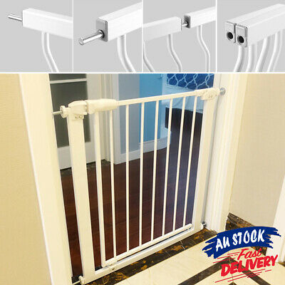 75-86cm Adjustable Baby Pet Extra Wide Extension Barrier Safety Gate Child