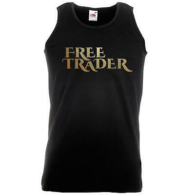 Unisex Black Poldark Free Trader Vest Pirate Smuggler Gold Fan Art