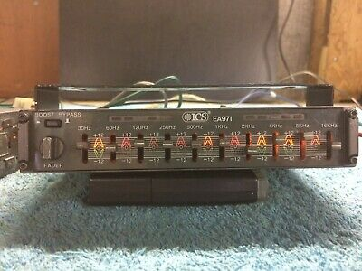 Vintage/Classic ICS EA971 car equaliser/booster