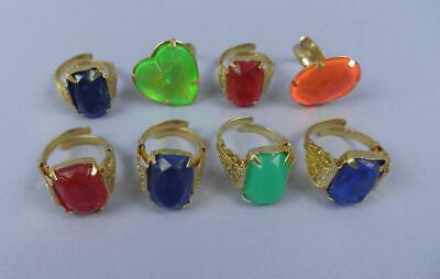 Selection of c1950s/50s Gumball /ArcadeToy Dress Rings - Old Unused Stock