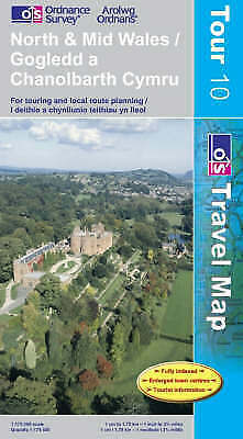 North and Mid Wales (OS Travel Series - Tourist Map) (OS Travel Map - Tour Map),