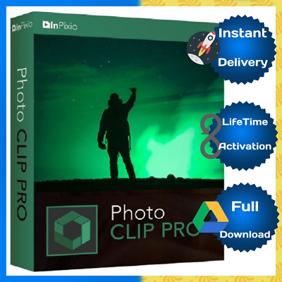 InPixio Photo Clip Professional 9 Pro 🔥 Lifetime Activated-Instant Delivery 📥