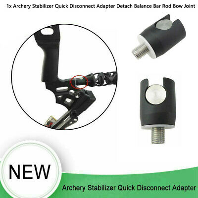 Archery Bow Quick Disconnect Adapter Stabilizer Bar Aluminum Recurve Compound CA