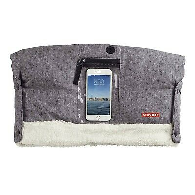 Skip Hop Stroll & Go On-Call Hand Muff  *BRAND NEW* Heather Gray