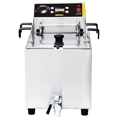Buffalo Pasta Cooker with Timer 8 litre ltr Pasta Boiler - GH160 Catering