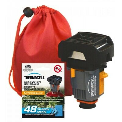 Thermacell Backpacker + Paquete de Recambio 48H Protector Mosquitos Defensa