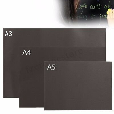 A3 A4 A5 Blackboard Magnetic Small Or Large Office Notice Menu Chalk