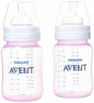 Avent Classic+ Classic+ 2 Feeding Bottles 26Ml - Pink Baby/Toddler Feeding