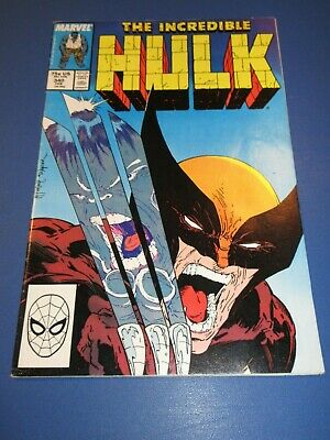 Incredible Hulk #340 Signed by Artist Todd McFarlane Wolverine Best Cover Ever