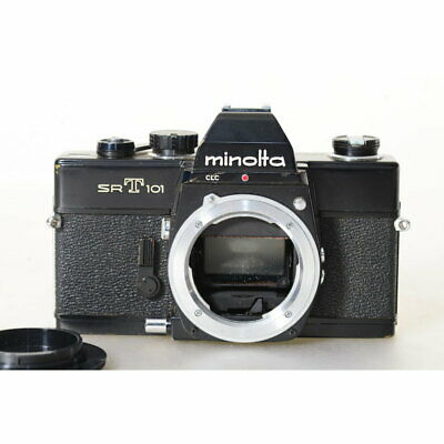 Minolta Sr-T 101 Camera in Black / Srt 101 SLR Camera/ Body/ Case