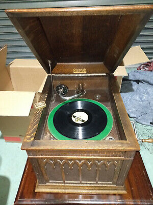 Rare Vintage 1926 Rexonola Table Top Gramophone in Excellent Condition