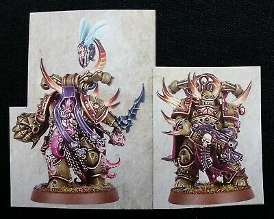 40K 2 Plague Marines Dark Imperium Warhammer Chaos Space Marines Death Guard