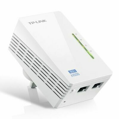 NEW! Tp-Link Tl-Wpa4220 V1.2 300Mbps Av600 Wireless N Powerline Adapter Single