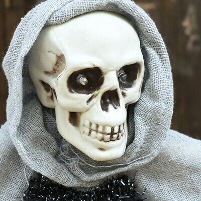 Light Up Scary Halloween Props Supply Bar Decoration Scarf Hanging Horror-Ghost