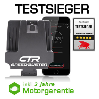 Chiptuning Box CTR - BMW 330xd E46 135 kW 184 PS