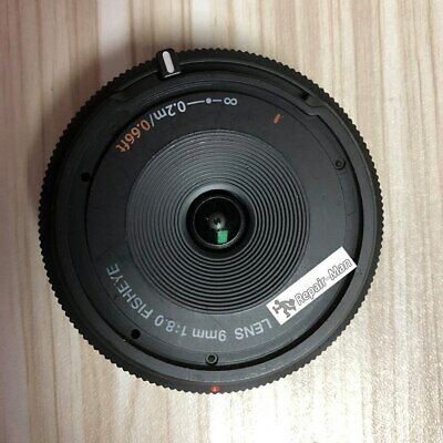 Used 9mm 1:8.0 FISHEYE Lens F8.0 Micro 4/3 Mount Bayonet For Olympus