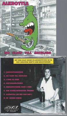 CD--  Alkbottle ‎– No Sleep Till Meidling // DIFFRENT BACKCOVER