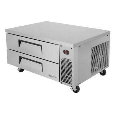 Turbo Air - TCBE-48SDR-N - 2-Drawer 48 in Stainless Steel Chef Base