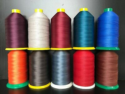 43 Colours COTTON-HEAVY DUTY SEWING MACHINE THREAD UPHOLSTERY & LEATHER WORK