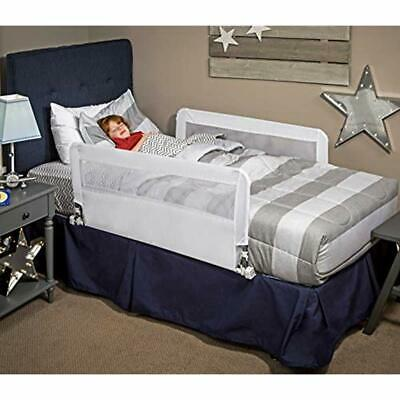 HideAway Double Sided Bed Rail Guard, Reinforced Anchor Safety System Childrens
