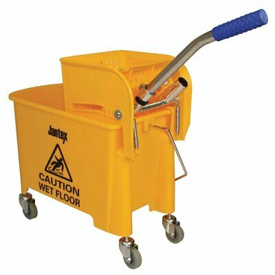 Jantex Kentucky Bucket & Wringer 20 litre  Yellow  F951 Catering Floor Cleaning