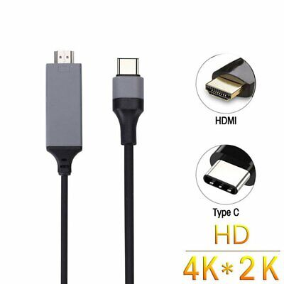 USB 3.1 Type C USB-C to 4K HDMI HDTV Adapter Cable For Samsung Galaxy S9 Macbook