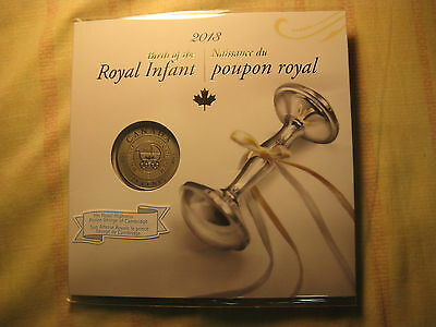 2013 Canada Royal Infant Carriage 25 Cents Over Sized Coin in RCM Album.