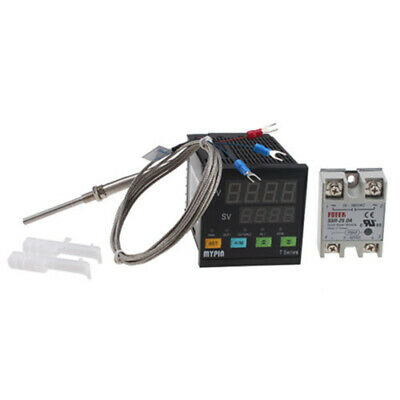 Universal Digital Pid Ssr Thermostat Temperature Controller Pt100 Thermocouple