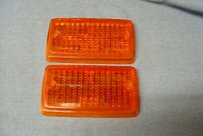 Nos Ford Escort Mk 1 Front Indicator Lenses Pair