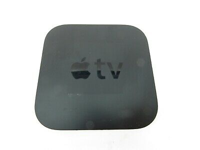 Apple TV A1427 3rd Generation 8GB HD Media Streamer With Power Cord